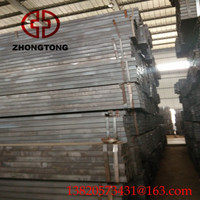 China Hot Sale Building Material black / Galvanized Steel Square Tube with package