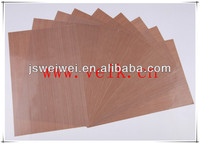 Made in China best seller 9008AJ- brown PTFE fabric free of PFOA PFOS complied in FDA certificate china supplier