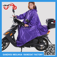 OEM 2016 Waterproof Rain Poncho Electric Bike Scooter Oxford Hooded Riding Disposable Rain Poncho