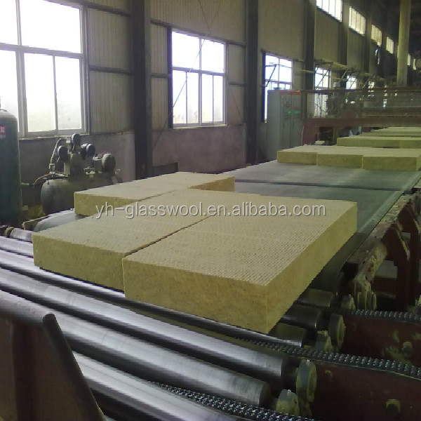 High Density Rock Wool Board Mineral Wool Board Insulation