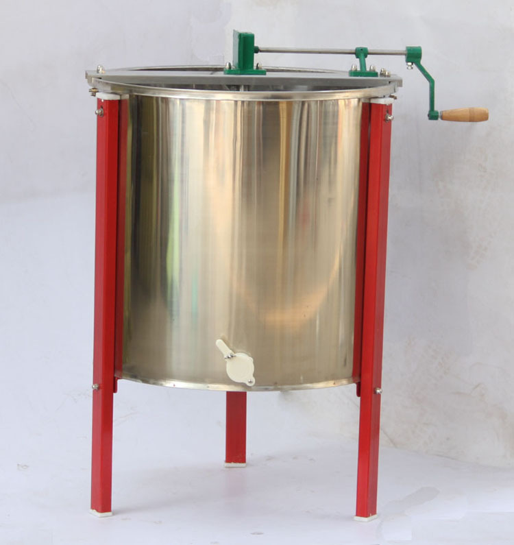 Radial Honey Extractor/8 Frames Manual Stainless Steel Honey Extractor