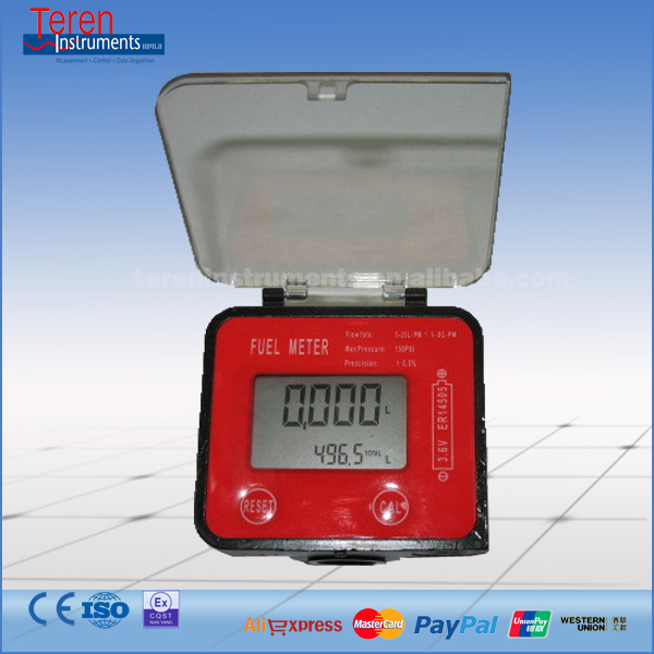 Electronic Oval Gear Meter Diesel Fuel Gasoline Kerosene Oil Flow Meter