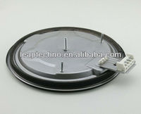 LT-CIP220A Cast Iron Electric Hotplate 145MM 180MM 220MM Gas cooker parts; Stove parts 110V-220V 1000W-2500W