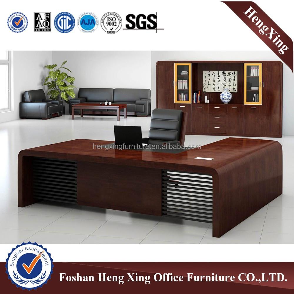 Foshan Goedkope prijs hot ontwerp executive houten bureau/kantoor ...
