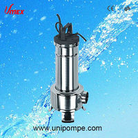 VSW series stainless steel water pump with cutting system