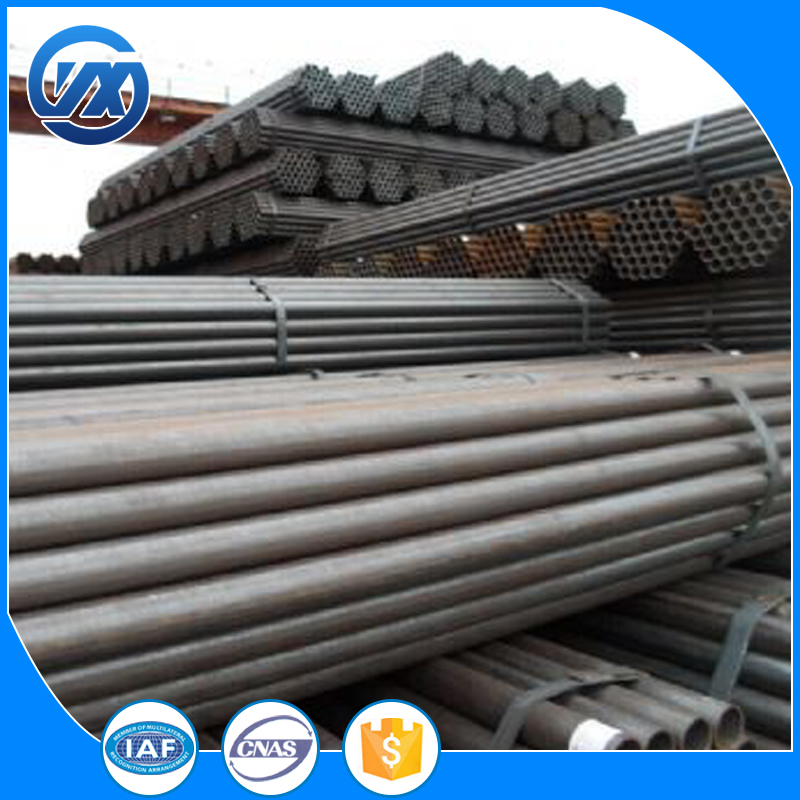 Hot Dipped round pipe and drape systems for building material