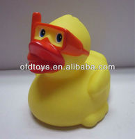 small rubber animal toys yellow rubber duck plastic duck toy