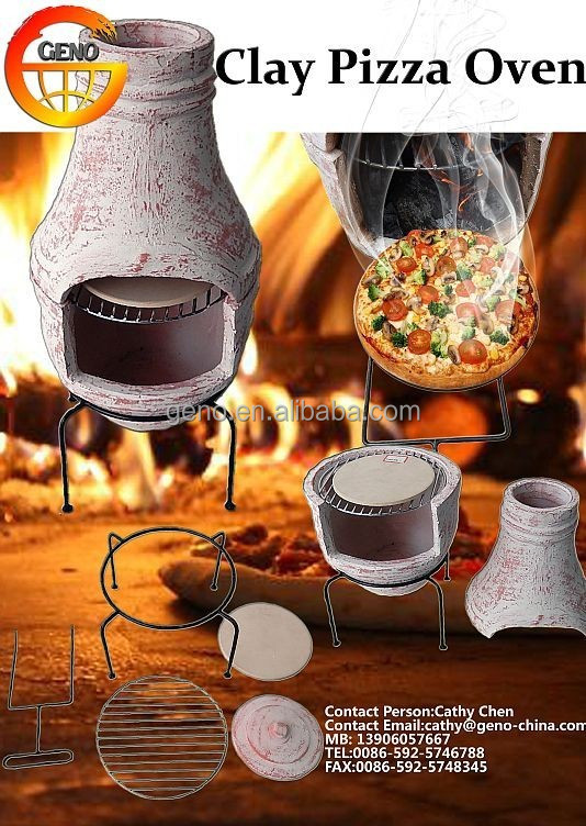 Classic wood burning outdoor chiminea bbq