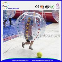 Outdoor sport toy,inflatable human bubble suit for sale BB-M7130