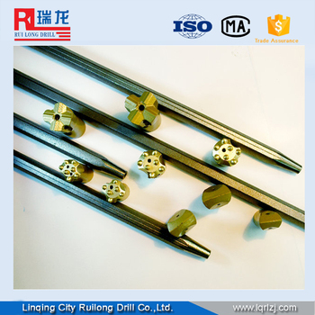 7 11 12 degree tapered drill rod
