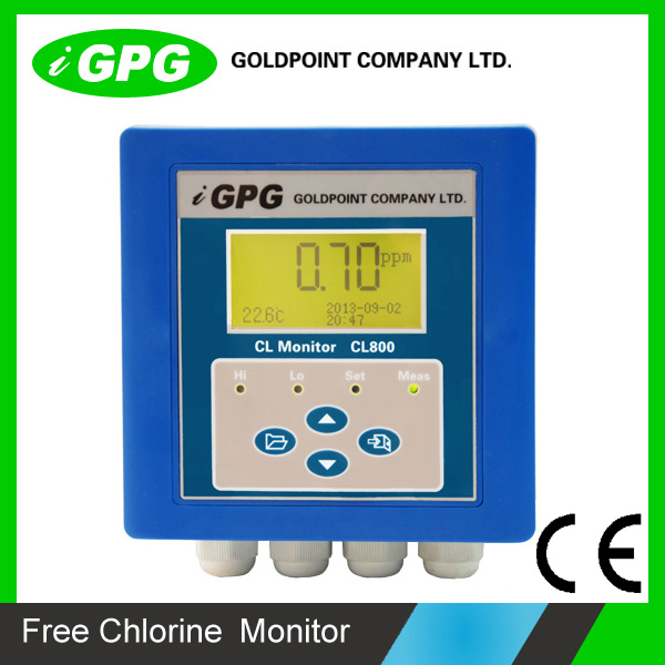 Industrial Online Free Chlorine Monitor CL800