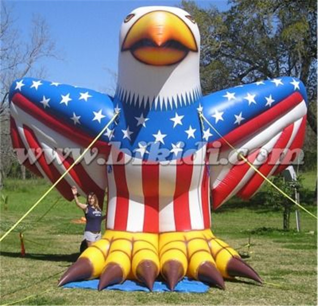 Giant inflatable bald eagle balloon, advertising inflatable eagle model K2111