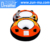 2016 Orange Color Inflatable Towable Tube Classic for 2 persons