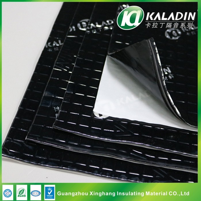 Guangzhou supplier super sound deadening for car sound proof