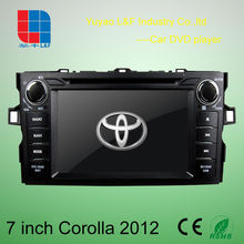 8 inch car radio android for toyota corolla with Android 4.2.2 PIP GPS BT DVBT IPOD RADIO 3G WIFI
