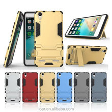 Steel Bear With kickstand TPU+PC Armor Case for Lenovo A6000 A7000 Back Cover Cases