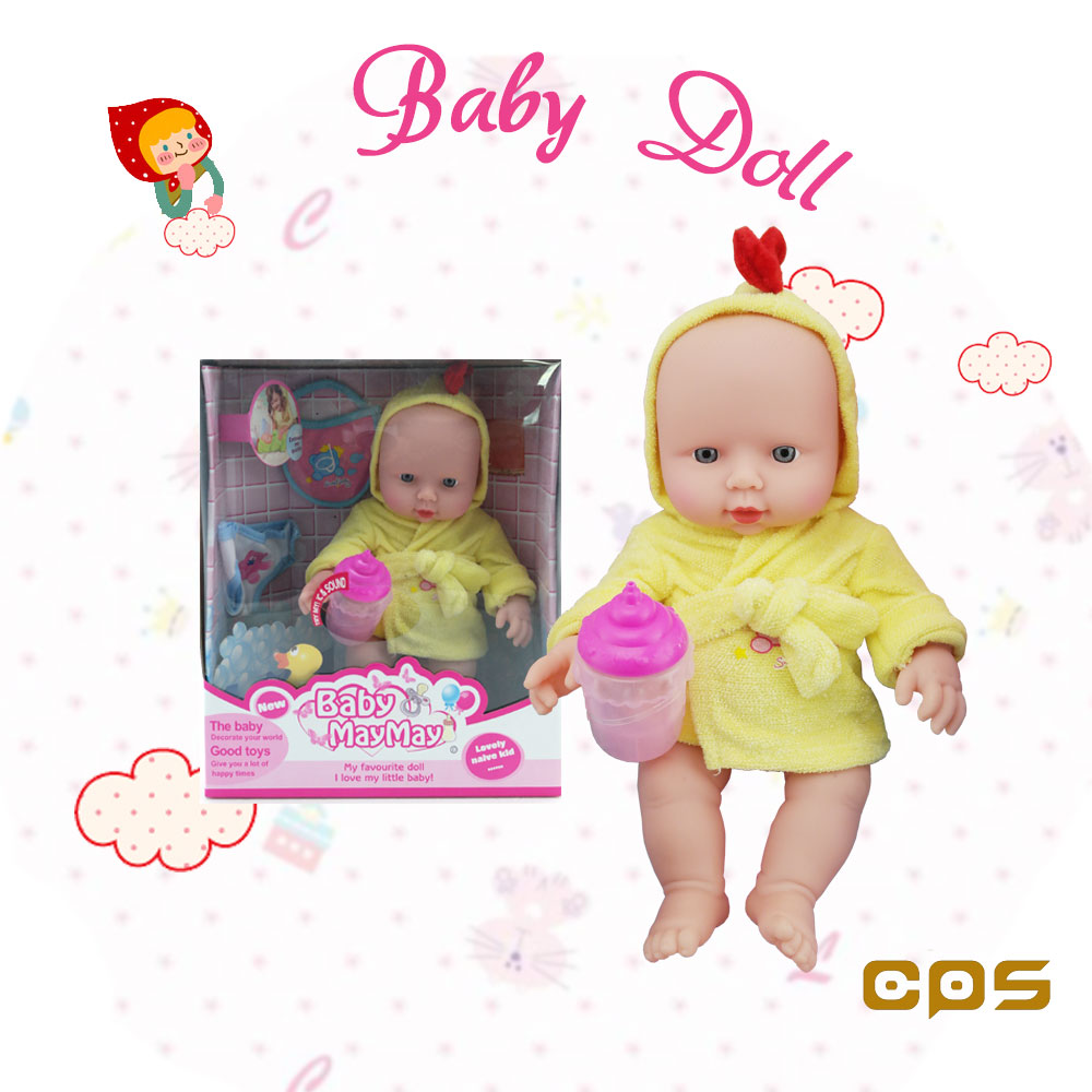 Plastic toy doll baby selling best in Turkey