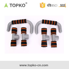 TOPKO Wholesale Manufacture Gym Bars Pull Up Station fitness push up bar