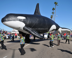 2016 hot sale giant inflatable whale for parade,advertising, sale