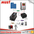 MUST Solar Power System Home 60A Fans Cooling 12-48VDC Solar Controller