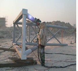 zinc coating for steel structure