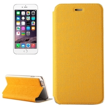 Oracle Texture Horizontal Flip Leather Case with Holder for iPhone 6 Plus