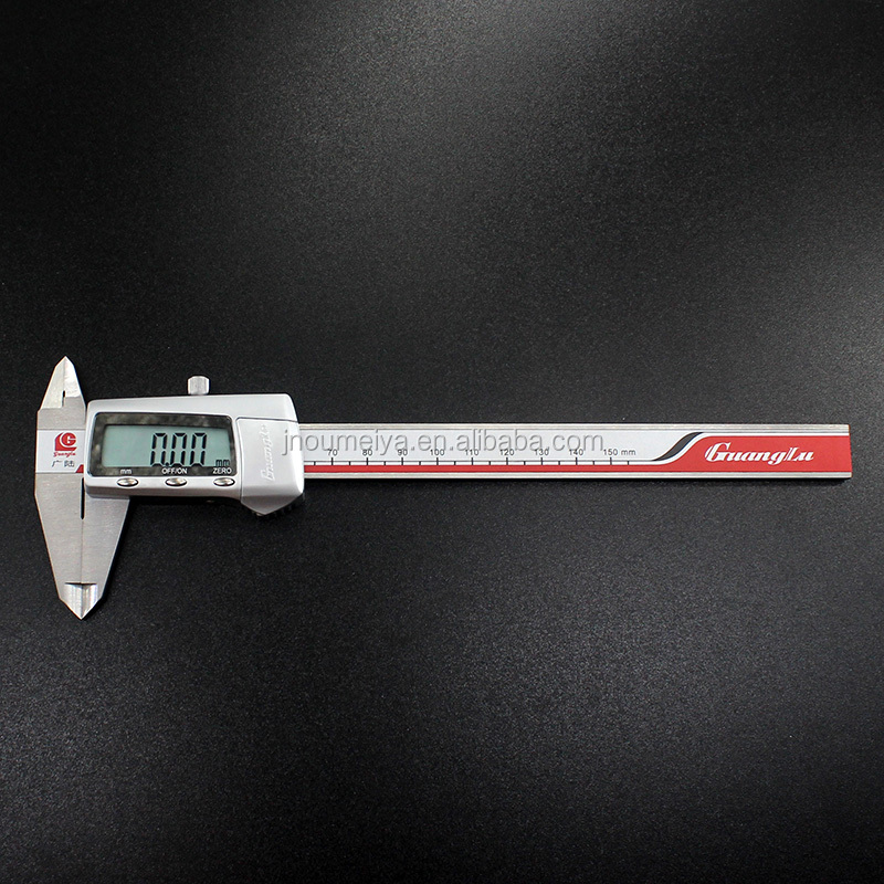 Metric inch conversion digital types of vernier caliper with high accuracy