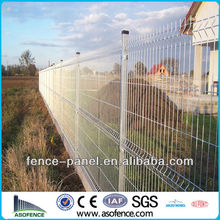 Garden Fence /Triangle Bend Fence/2x2 galvanized welded wire mesh for fence panel