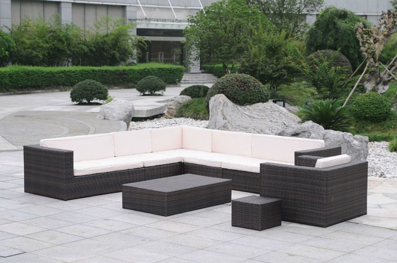 Rattan sofa set 2012 new design