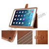 Customized PU Leather Protective Tablet Case Flip Stand Cover For Ipad