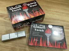 30pcs/box Long Burning Torch Coal