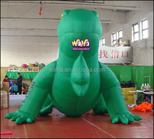 Green inflatable lizard/4M/Giant inflatable cartoon