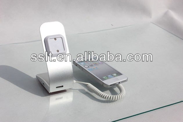 Mobile phone stand anti-theft security display/ charging stand holder