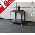 New Hot Simple Cheap Metal Corner Table Side Table With Wheel