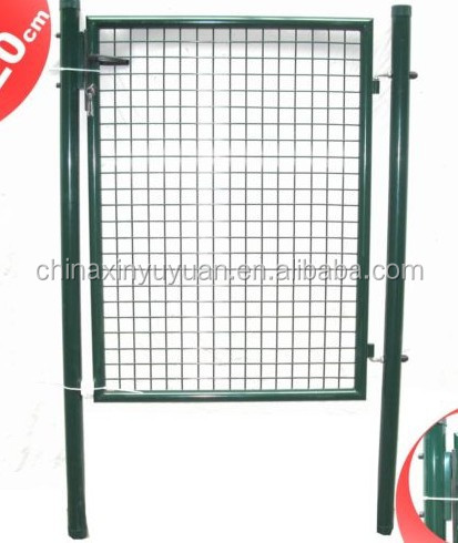 Small removable iron garden fence