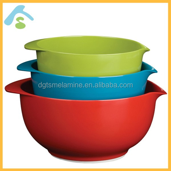 Various size Popular in Europe Melamine Plastic dinnerware set in 2017