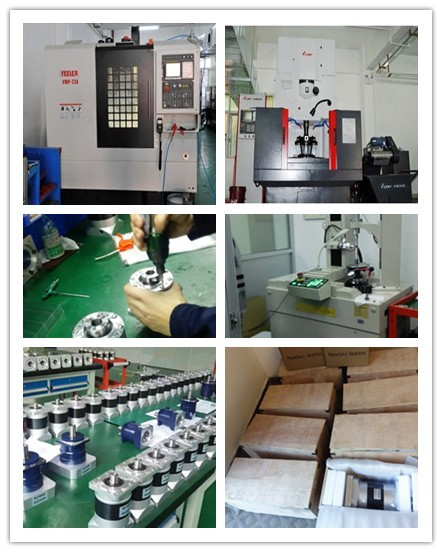 Shimpo motor work with Hongsen planetary gearbox factory produce mechanical part