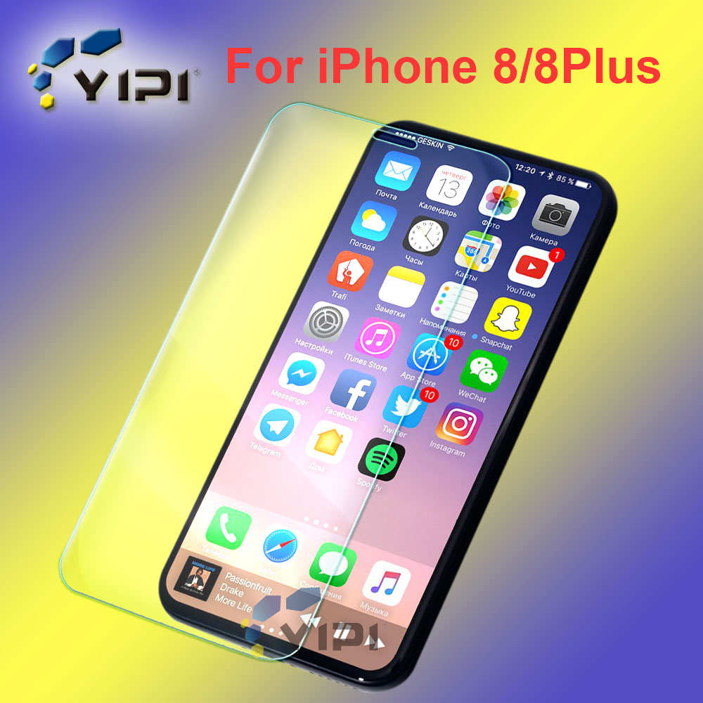 New Coming Best Tempered Glass Screen Protector For Iphone 8, For Iphone 8 Clear 9H Glass Screen Protector//