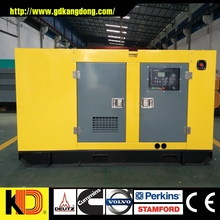 power silent diesel generator Guangdong price sale with Weichai Engine 62.5kva diesel generator
