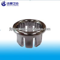 Lavatory overflow hole cover ring