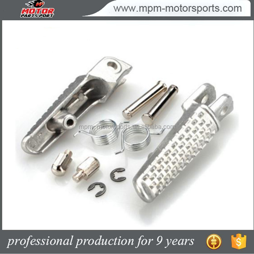 Foot pedals motorcycle foot pegs front footrests for Gsxr