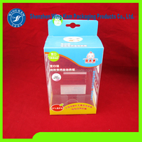 Environmental cake box cosmetics boxes repeatedly folded toy gift box transparent food packaging