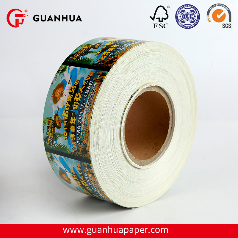 Adhesive Printing Thermal Paper Roll for Barcode Label