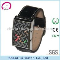 2012 Dazzle colour silicone led watch