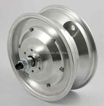 Single Shaft Electric Scooter Wheel Hub Dc Motor 10 Inch