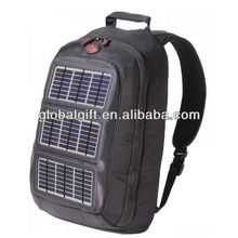 Solar charger backpack for laptop charger