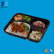 Disposable Plastic Airline Catering Lunch Box