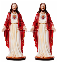 Resin bless life size christ jesus statue with opening arms