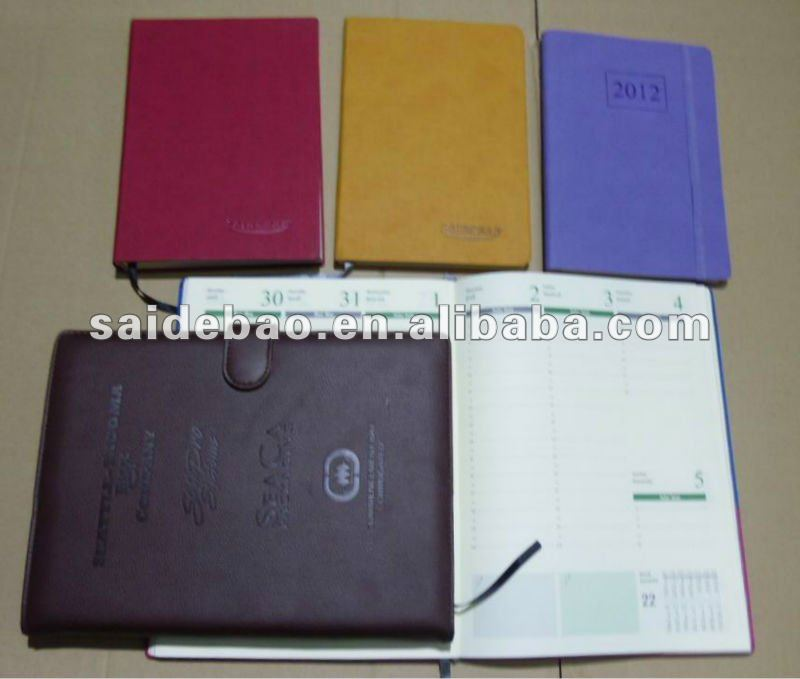 pu leather notepad cover