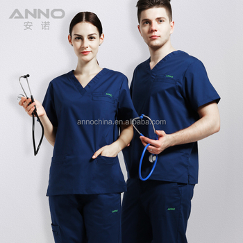 Wholesale new style waterproof scrubs uniforms set